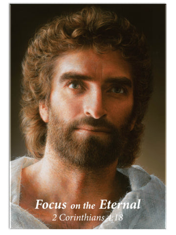 Jesus, by Akiane Kramarik 2017 in button-fridge-magnet by www.Art-SoulWorks.com