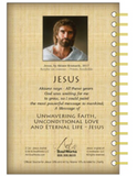 Jesus by Akiane Kramarik released in 2017,  200 Page Wire Bound Journal with Pockets