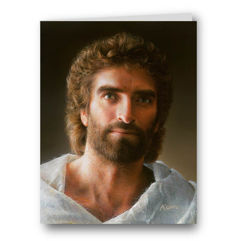 Jesus 2017 Painting by Akiane Kramarik, ecard, greeting card, digital