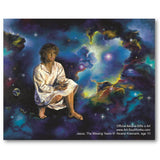 Jesus The Missing Years, canvas print by Akiane Kramarik @ www.art-soulworks.com