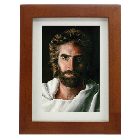 Prince of Peace Mini 2-inch x 3-inch Framed Print with easel @ www.art-soulworks.com