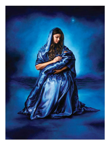 Mother's Love, Canvas Print by Akiane Kramarik @ www.art-soulworks.com