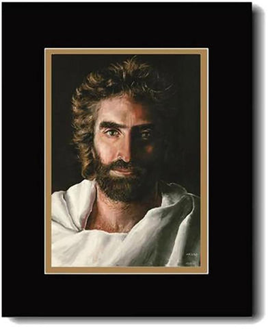 Prince of Peace, Resurrected Jesus,  Double Matted Print, 16 x 20-inches*