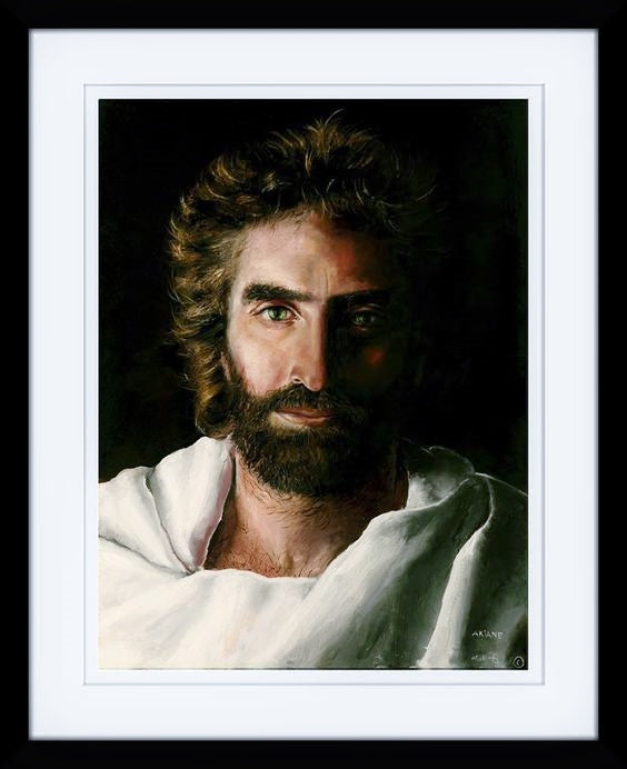 Prince of Peace by Akiane Kramarik, Framed 17 X 21 and Double Matted