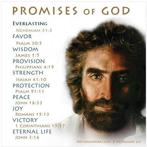Promises of God Download featuring Prince of Peace by Akiane Kramarik