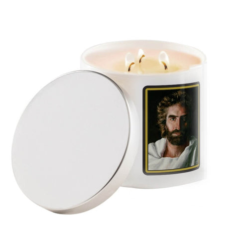 Prince of Peace Trinity Candle @ www.art-soulworks.com