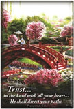 Trust Bridge Art by Akiane Fridge & Button Magnet