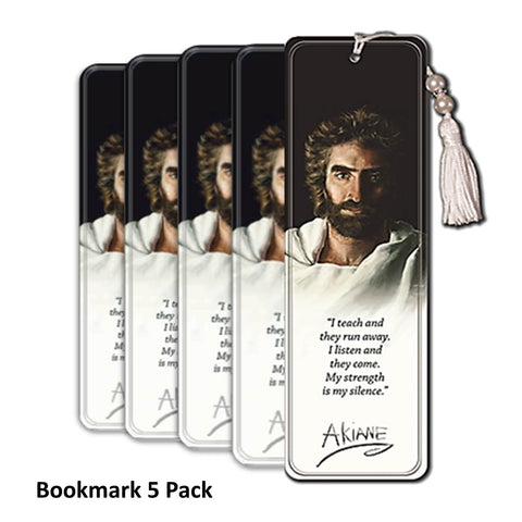 Prince of Peace - 5 Tasseled Bookmark Pack - Akiane Kramarik @ www.art-soulworks.com