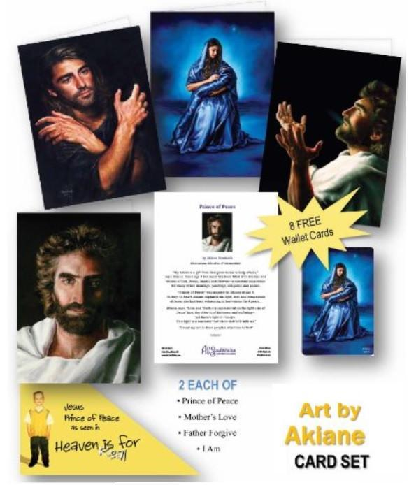 Boxed Set of Jesus Picture Note Cards @ www.art-soulworks.com