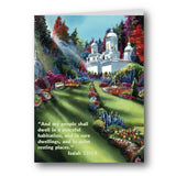 Akiane Kramarik Supreme Sanctuary and Isaiah 32 Greeting Card Front