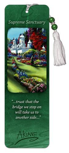 Supreme Sanctuary - Tasseled Bookmark - Akiane Kramarik