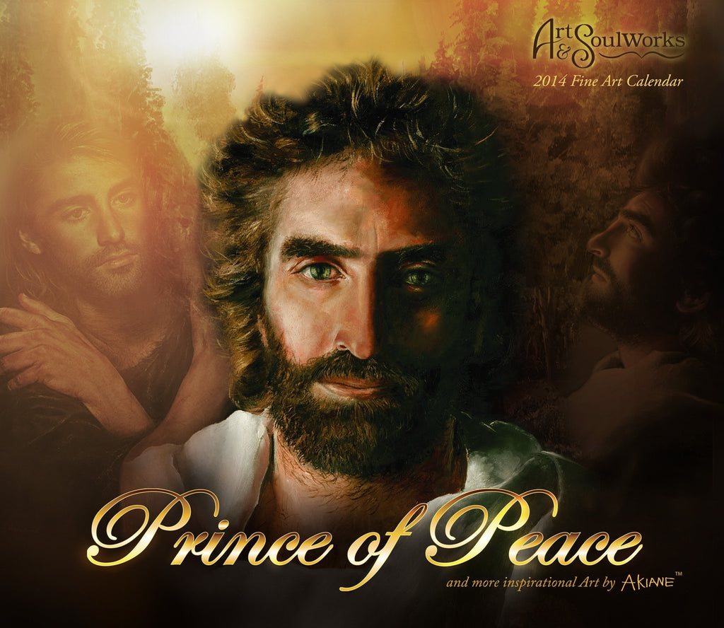 Prince of Peace & Other Artwork by Akiane Kramarik – 2014 Wall Calendar