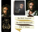 Be Still & Know That I Am God - Deluxe 3 Piece Journal Set