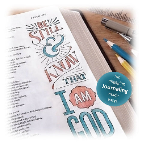 10 Piece Bible Journaling Kit