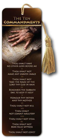 Ten Commandments - Bible Bookmark - Son of God Movie - Art-SoulWorks.com