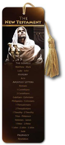 NEW TESTAMENT BOOKS of the Bible - Bible Bookmark - Son of God Movie - @ www.art-soulworks.com