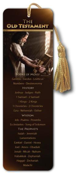 OLD TESTAMENT BOOKS of the Bible - Bible Bookmark - Son of God Movie - Art-SoulWorks.com