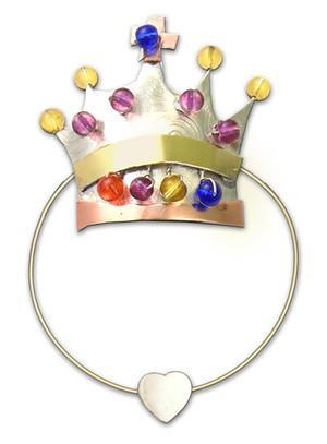 Crown of Jewels - Clips-over-page - Bookmark