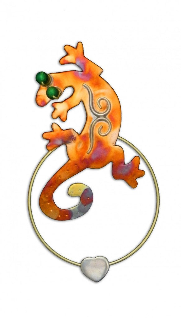 Gecko - Clip-over-the-Page - Bookmark @ www.art-soulworks.com
