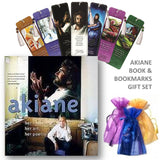 Akiane Book, her life, her art, her peotry Gift Set with Bookmarks