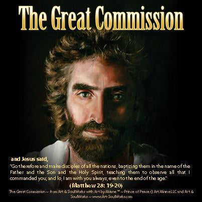 Jesus Prince of Peace by Akiane Kramarik The Great Commission Download