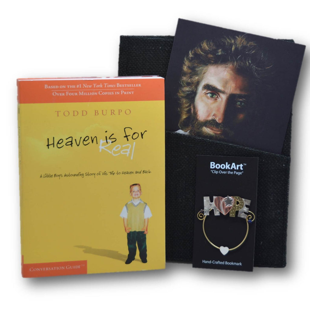 Heaven Is For Real - HIFR - DVD Based Conversation Set - Paperback with DVD @ www.art-soulworks.com