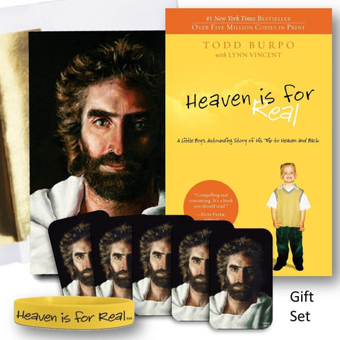 Heaven is for Real Book, in 8 Piece Jesus Gift Ensemble @ www.art-soulworks.com