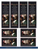 In Dependence God Bookmark and Wallet Card