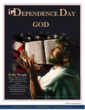 In Dependence God Poster @ www.art-soulworks.com
