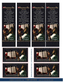 In Dependence Repentance Bookmark and Wallet Card