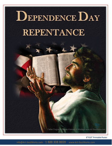 In Dependence Repentance Poster