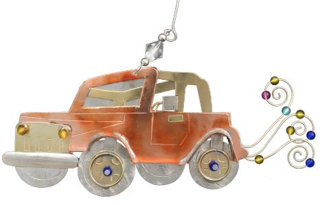 Jeep Christmas Ornament.Jeeping Whimsical Special Occasion Christmas Ornament