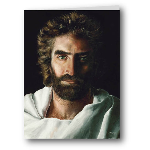 Jesus Prince of Peace by Akiane Kramarik Greeting Card Stationary Front @ www.art-soulworks.com