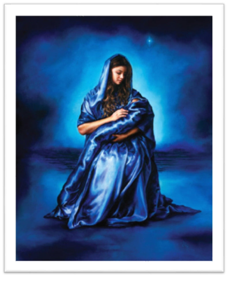 mothers love akiane painting of mother mary 11 x 14 inch print size