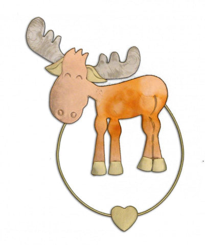 Murphy Moose - Clip-over-the-Page - Bookmark @ www.art-soulworks.com