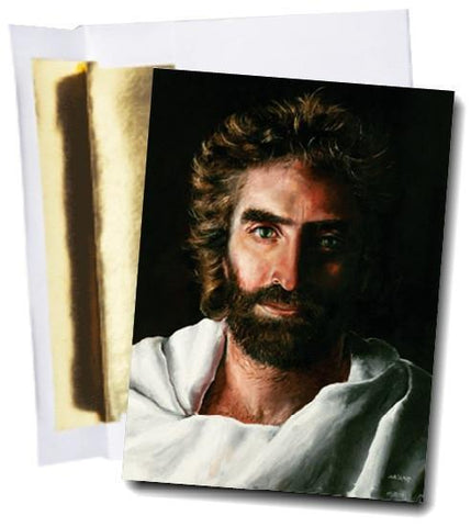 Prince of Peace Greeting-Note Card & Envelope @ www.art-soulworks.com