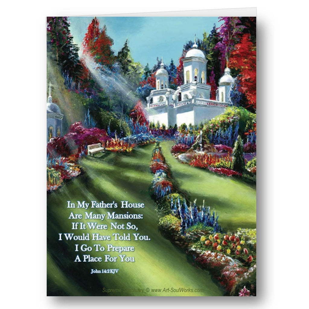 Names of god art soulworks purchase to print front greeting card supreme sanctuary m4hsunfo