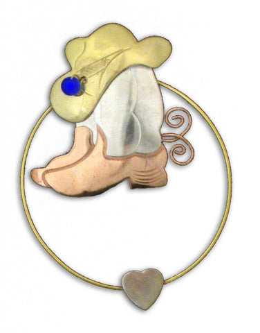 Wild West Boots - Clip-over-the-Page - Bookmark @ www.art-soulworks.com