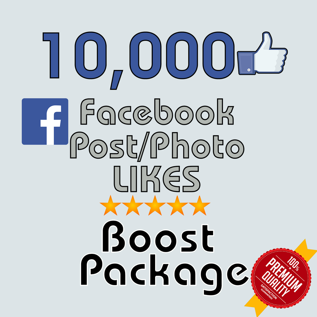 10000 Facebook Post Likes Tryfollowers
