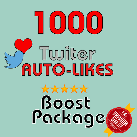 1000 Auto-LIKES per post- 30 Day Membership - 10 Posts/day max