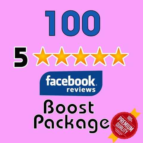 GET 100 Facebook 5 Star Reviews for your page - TryFollowers - Cheapest Services