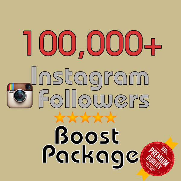 100000 Instagram Followers - buy instagram followers cheap