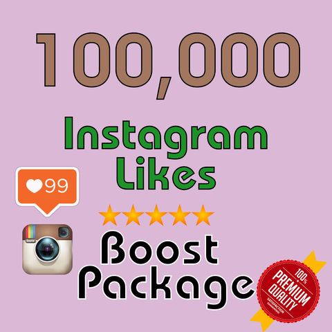 100000 Instagram LIKES - buy instagram followers cheap