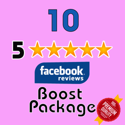 GET 10 Facebook 5 Star Reviews for your page - TryFollowers - Cheapest Services