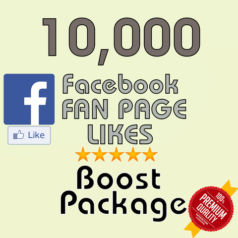10000 Facebook Fan Page Likes - buy instagram followers cheap