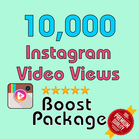 10000 Instagram Video Views - TryFollowers - Cheapest Services - 2