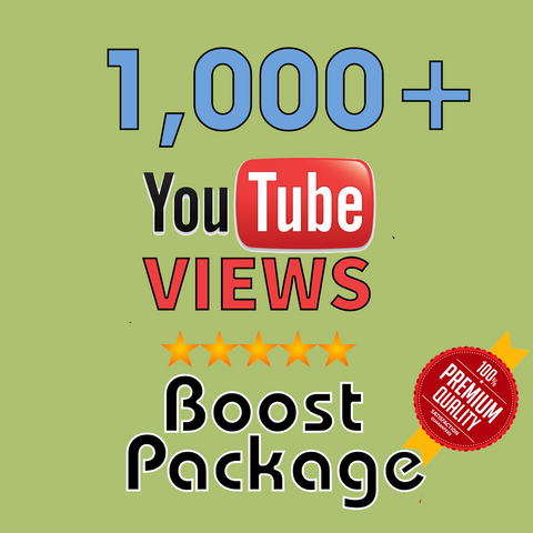 1000 YouTube Views - buy instagram followers cheap