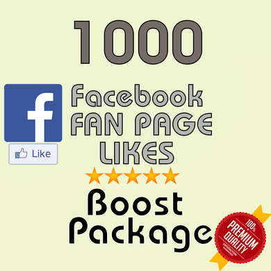 1000 Facebook Fan Page Likes - buy instagram followers cheap