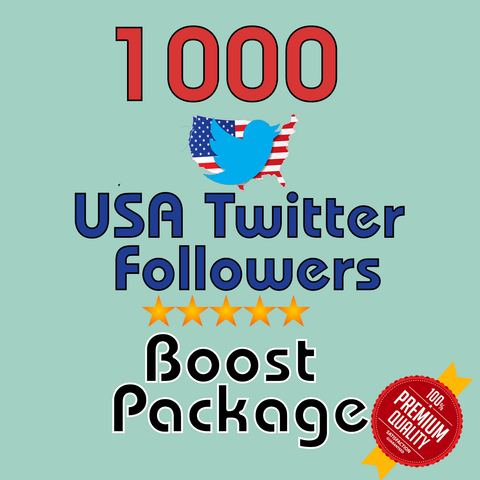 1000 USA Twitter Followers - buy instagram followers cheap