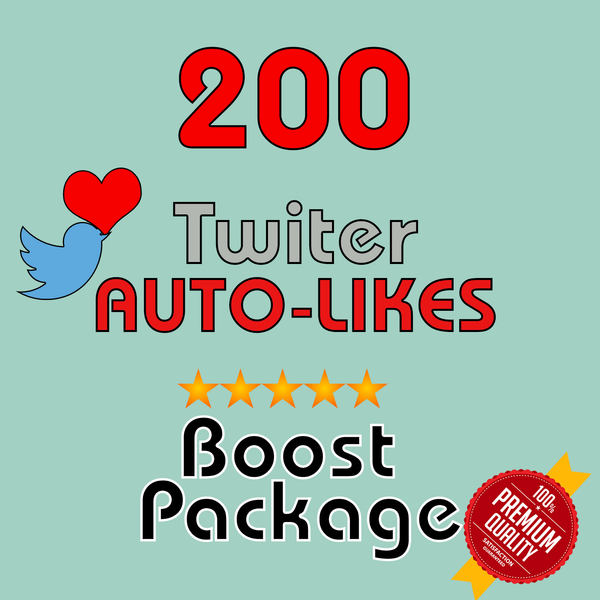 200 Auto-LIKES per post- 30 Day Membership - 10 Posts/day max